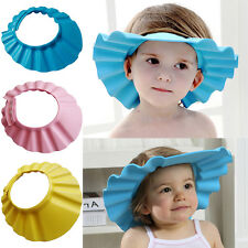 New Soft Shampoo Bath Bathing Wash Hair Shield Baby Kids Children Shower Cap Hat