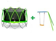 Trampoline + FREE Add on Swing Frame iTech Spark2 8ft 10ft 12ft 14ft Backyard