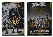 Signed G-Dragon BIGBANG Big Bang MADE PROMO Photo Hand AUTOGRAPH Authentic