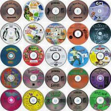 Lot of 4 Kids CD-ROMS (Choose from 50 Titles) Less than $3.00 each! FREE US S&H!