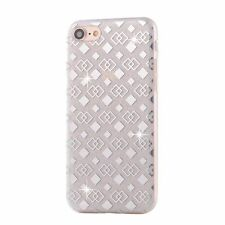 NEW TPU Glitter Bling Crystal Hard Back Case Cover for Apple iPhone 7 6 6S Plus