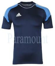Adidas Camp 13 Climacool Formotion T-Shirt - Navy Blue  Mens Size