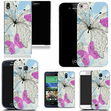 motif case cover for many Mobile phones  - dainty butterfly