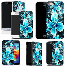 gel case cover for many mobiles -  futuristic flower silicone