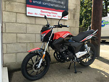 Lexmoto ZSA 125cc Learner Legal Motorcycle Motorbike Commuter
