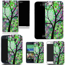 motif case cover for many Mobile phones - tree swirl