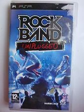 ROCK BAND UNPLUGGED FOR SONY PSP GAME PAL UK