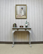 Small Painted Hall Console Table, Useful Small Lamp or Telephone Table