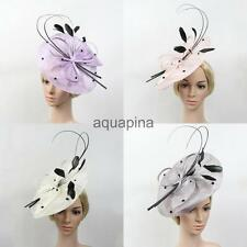 Large Headband Aliceband Fascinator Wedding Bridal Races Church Tea Party Hat