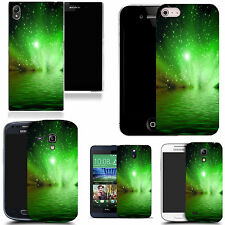 motif case cover for many Mobile phones - green water