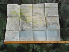 WW2 Map (WAR OFFICE - 1941) of Chichester and Worthing  1940 WAR REVISION