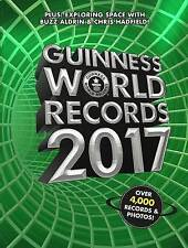 NEW Guinness World Records 2017 by Guinness World Records Hardcover Book (Englis