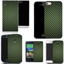 motif case cover for many Mobile phones - green equilateral
