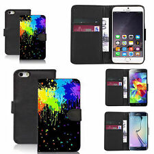 pu leather wallet case for many Mobile phones - misfit