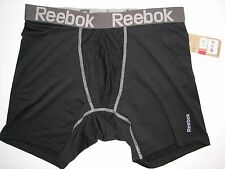 NWT REEBOK Athletic Fitness  Performance Underwear Boxer Brief Open Pouch