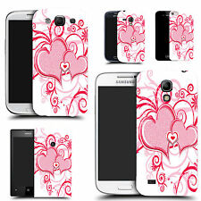 motif case cover for various Popular Mobile phones  - red heart