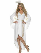 Ladies Sexy Christmas Angel Heaven Xmas Party Outfit Fancy Dress Costume