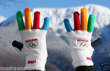 Bosco Sport Gloves Official Merchandise XXII Winter Olympic Games Sochi 2014 New