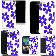 motif case cover for various Popular Mobile phones - azure daisy