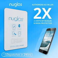 2x Genuine NUGLAS PREMIUM Tempered Glass Screen Protector iphone 6 plus 6s plus