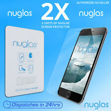2x 100 % Genuine NUGLAS Premium  Tempered Glass Screen Protector iphone 7 plus