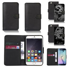 pu leather wallet case cover for many mobiles design ref q92