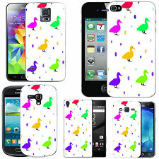 motif case cover for various Mobile phones - multi duck droplet