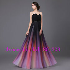 New Stock Women Formal Dress Wedding Party Dress Evening Dress US Size 4 to 16