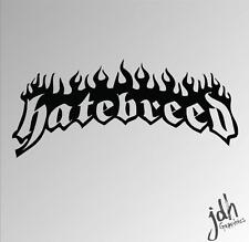Hatebreed Vinyl Decal Sticker Metal Rock Band Death Guitar Funny Car Laptop
