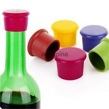 Silicone Soft Wine Beer Cover Bottle Cap Beverage Stopper Cork Kitchen Pub Party