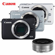 Canon EOS M10 Mirrorless Digital SLR Camera  Body EF-M 22mm f/2 STM Lens Kit