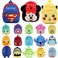 Lovely Kids Girls Boys Children Baby Toddlers Backpack Doll Schoolbag Small Bags