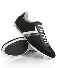 Leather Trainers New Shoes Mens Sneakers Lace Up Brand Classic Size Hugo Boss