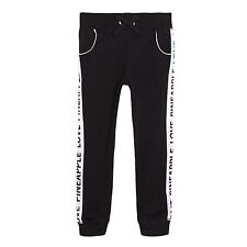 Pineapple Kids Girls' Black Quilted Joggers From Debenhams