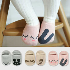 Sale Baby Newborn Infant Floor Sock Boys Girls Kids Rabbit Bear Cotton Socks