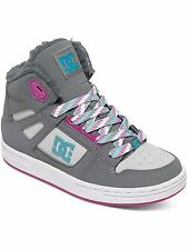 DC Grey-Blue-Blue Rebound Winter Kids Shoe
