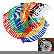 Motorcycle Bicycle Car Wheel Cycling Reflective Rim Stickers Decals Waterproof