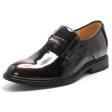 Men Height Increasing Dress Loafers Business Elevator Formal Shoes Topoutshoes