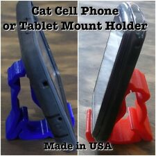 CAT MULTI PURPOSE TABLET CELL PHONE MOUNT HOLDER UNIVERSAL KITTY 3D PRINTED USA