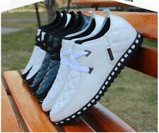 Fashion England Men Breathable Recreational Shoes Casual Lightweight Breathable