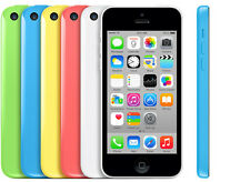 Factory Unlocked Apple iPhone 5C 3G 4G LTE GSM Smartphone Cellphone 32GB CACN