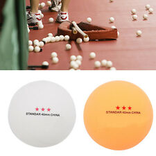 50Pcs 3-Star Standard 40mm Olympic Table Tennis Ping Pong Balls Indoor Games