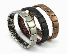 Titanium Bracelet Power Nano Energy Germanium Magnetic Balance Ion Health 120