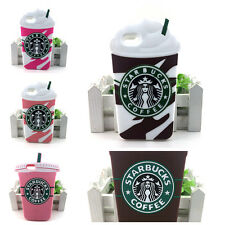 HOT! Starbuck Coffee Cup Soft Silicone Phone Case For iPhone All Back Cover