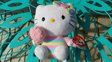 "Sanrio Ty Hello Kitty Beanie Babies 6"" Collectible Stuffed Plush Toy w/ Tags"