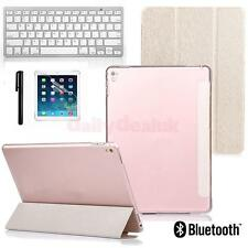 Ultra Slim Lightweight Standing Cover w/ Bluetooth Keyboard For iPad Pro 9.7''