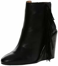 See By Chloe Wedge Fringe Ankle Womens Boot /- Choose SZ/Color.