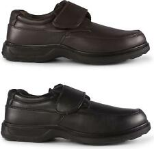 Dr Keller PERCY Mens Touch Fasten Comfort Anti-Slip Lightweight Wide Fit Shoes