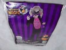 Halloween Cat Suit Dressing Up Costume Age 3-4, 5-6 - NEW
