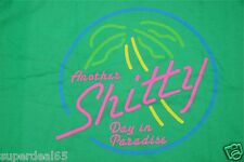 HUF DBC Worldwide T Shirt HUF Another Sh*tty  Day In Paradise  100% Cotton HUF